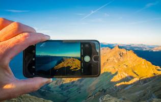 Handy-Bild auf dem Brienzer Rothorn