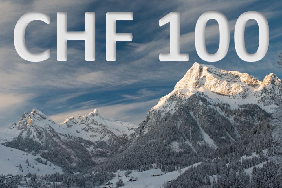 CHF 100 experience voucher