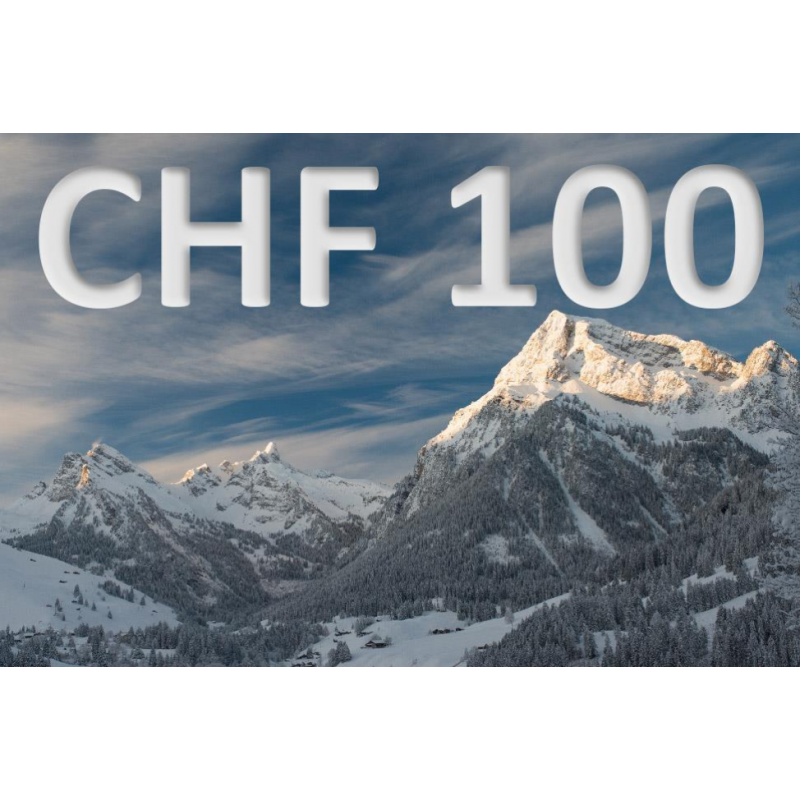 CHF 100 experience voucher