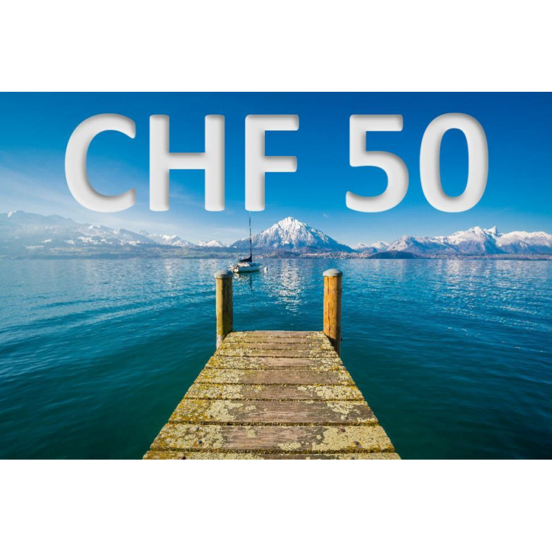 CHF 50 experience voucher